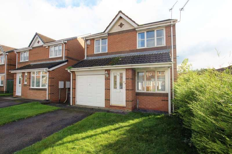 3 Bedrooms Detached House for sale in St. Cuthberts Drive, Sacriston, Durham, DH7