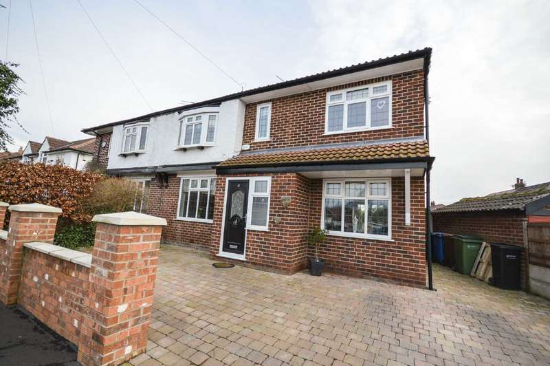 3 Bedrooms Semi Detached House for sale in Shakespeare Drive, Cheadle