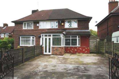 3 Bedrooms Semi Detached House for sale in Woodhouse Lane, Manchester