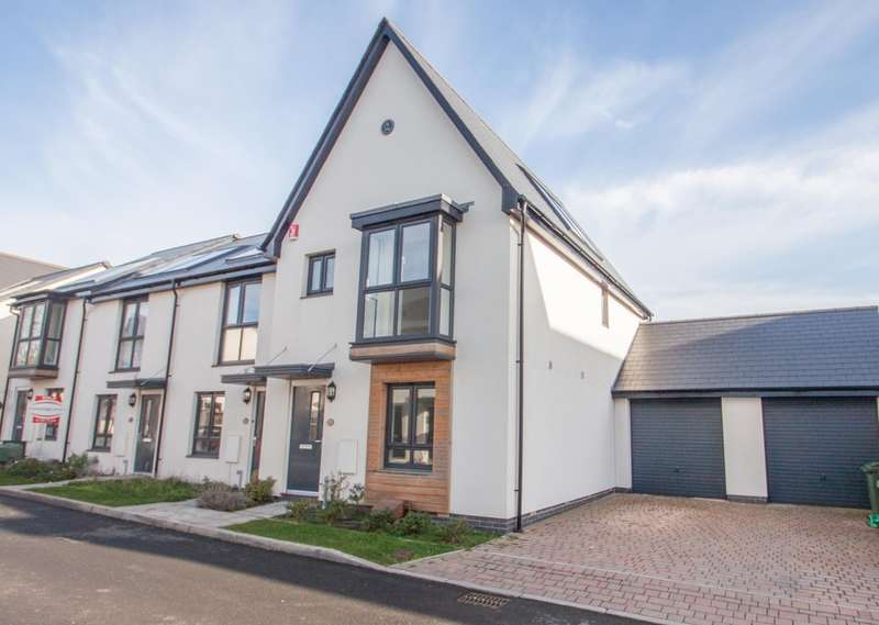 3 Bedrooms End Of Terrace House for sale in Derriford, Plymouth