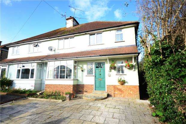 4 Bedrooms Semi Detached House for sale in Tor Road, Farnham, Surrey