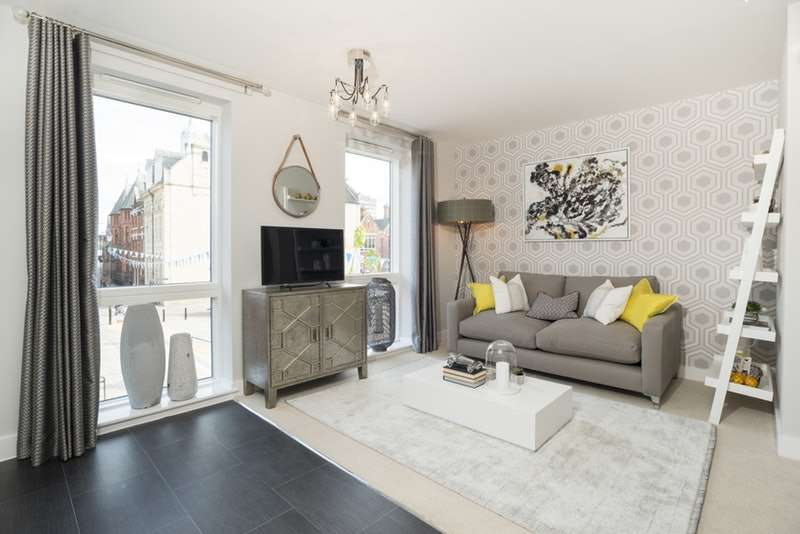 2 Bedrooms Apartment Flat for sale in Merchant Place, Bedford, Bedfordshire, MK40