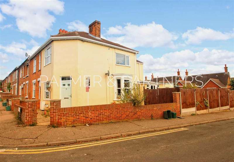 3 Bedrooms End Of Terrace House for sale in Weston Road, New Town, Colchester