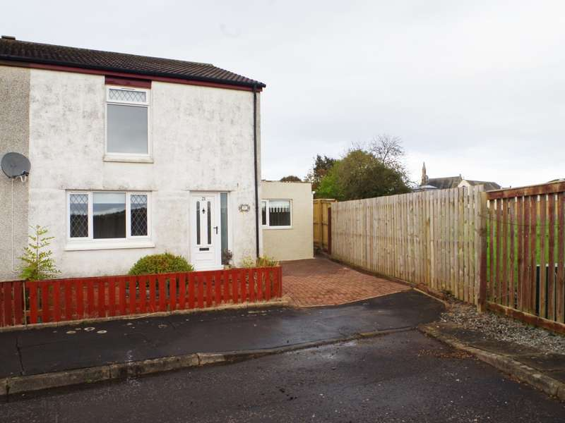 3 Bedrooms Semi Detached House for sale in 21 Saint Winning's Well, Kilwinning, KA13 6JZ