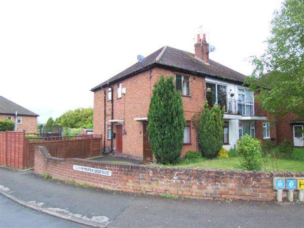 2 Bedrooms Maisonette Flat for sale in Sunnybank Avenue, Stonehouse Estate, Coventry