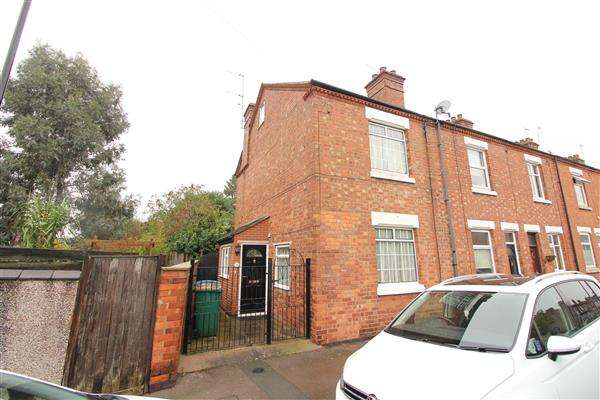 4 Bedrooms End Of Terrace House for sale in Osbourne Road, Earlsdon, Coventry