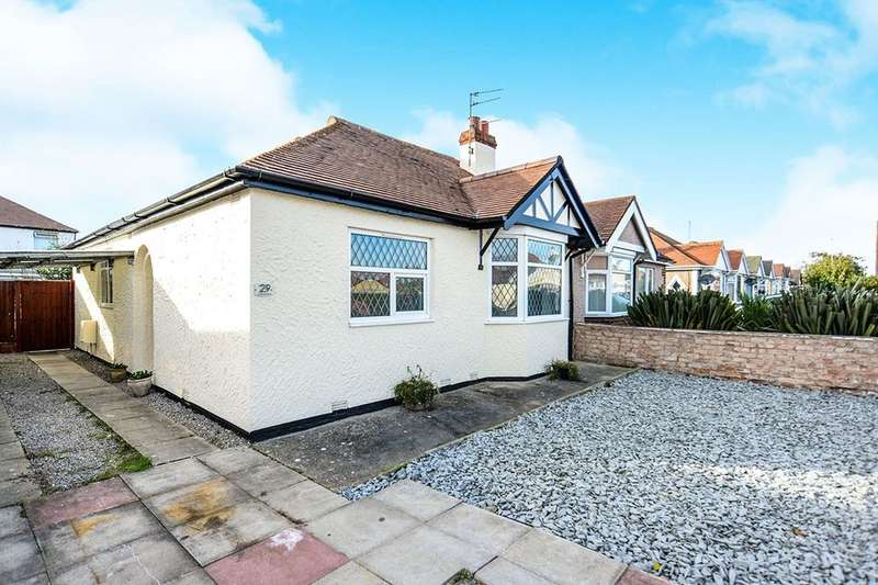 2 Bedrooms Semi Detached Bungalow for sale in Tynewydd Road, Rhyl, LL18