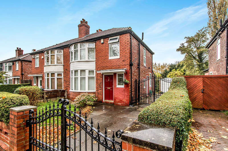3 Bedrooms Semi Detached House for sale in Parsonage Road, Withington , Manchester, M20
