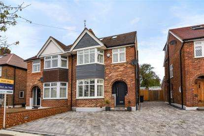 4 Bedrooms Semi Detached House for sale in Empress Drive, Chislehurst