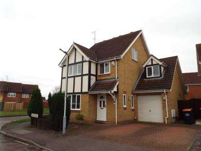 5 Bedrooms Detached House for sale in Wiseman Close, Luton, Bedfordshire