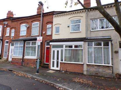 2 Bedrooms Terraced House for sale in Kitchener Road, Selly Park, Birmingham, West Midlands
