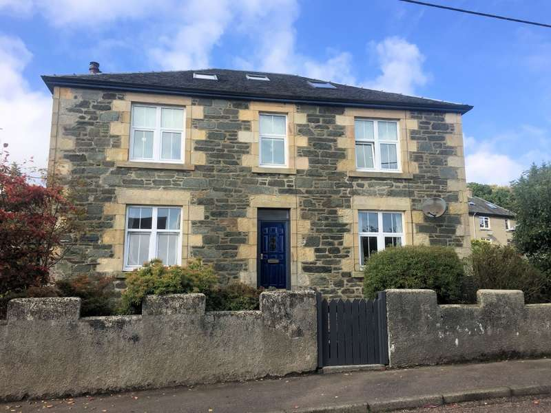 4 Bedrooms Maisonette Flat for sale in Top Flat Burnside House, St Clair Road, Ardrishaig, PA30 8EW