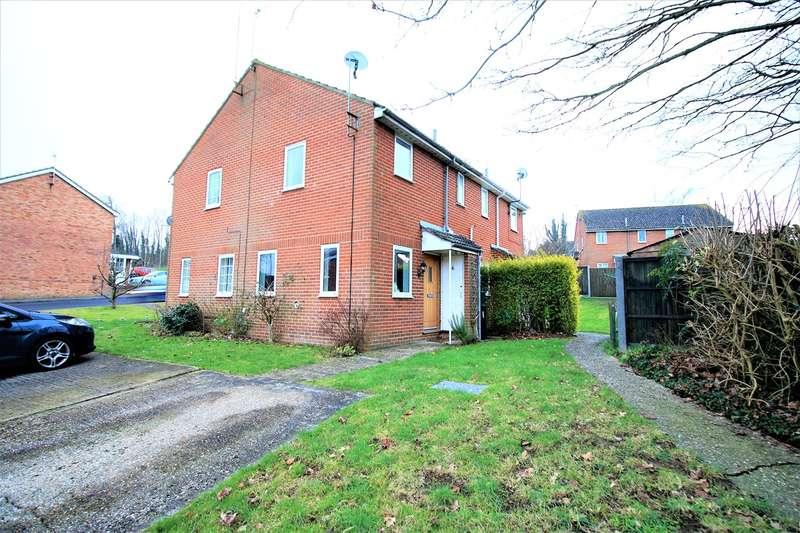 1 Bedroom Cluster House for sale in Rembrandt Close, Black Dam, Basingstoke, RG21