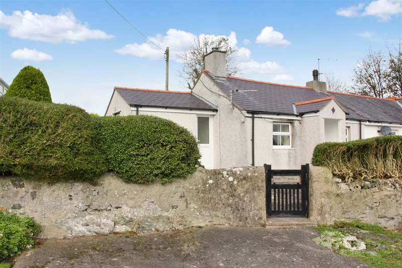 1 Bedroom Semi Detached Bungalow for sale in Pig Y Rhos, LLangristiolus