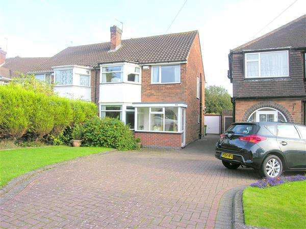 3 Bedrooms Semi Detached House for sale in Moxhull Road, Kingshurst