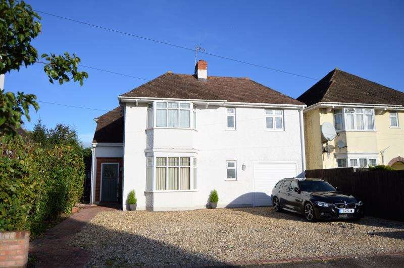 4 Bedrooms Detached House for sale in Parkfield Drive, Taunton, Somerset