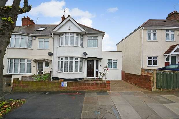 4 Bedrooms Semi Detached House for sale in Sudbury Heights Avenue, Greenford, Middlesex