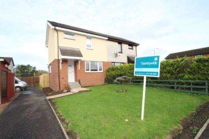 2 Bedrooms Semi Detached House for sale in Auchinleck Crescent, Robroyston, Glasgow