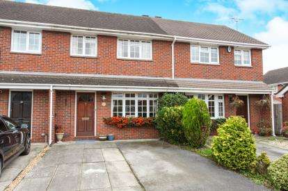2 Bedrooms Terraced House for sale in Bessancourt, Holmes Chapel, Cheshire