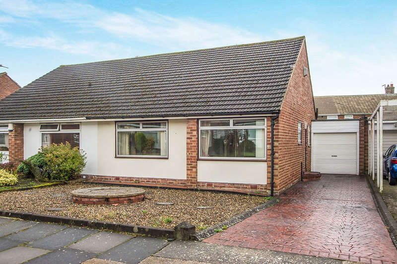2 Bedrooms Semi Detached Bungalow for sale in Arkleside Place, Chapel House, Newcastle Upon Tyne, NE5