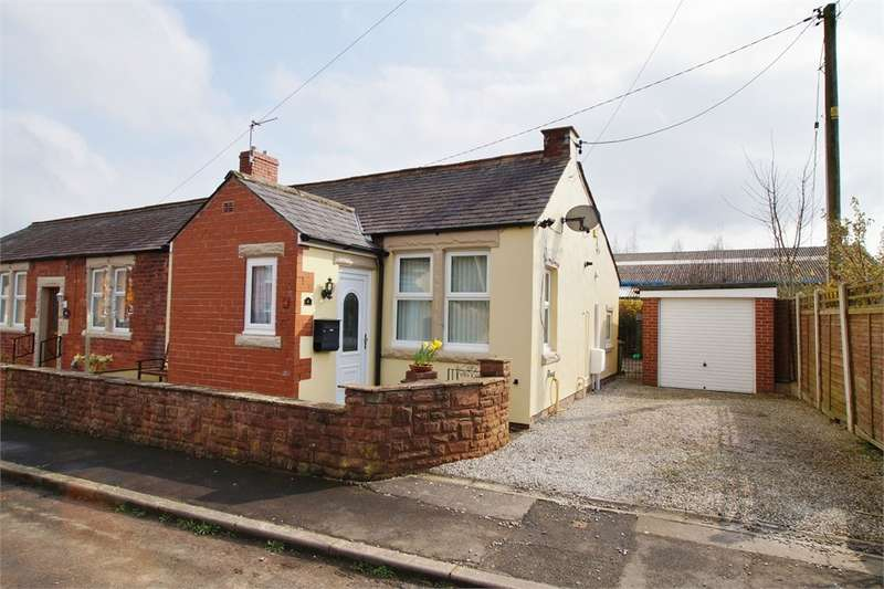 2 Bedrooms Semi Detached Bungalow for sale in CA4 0AW Dale View, The Stripes, Cumwhinton, Carlisle, Cumbria