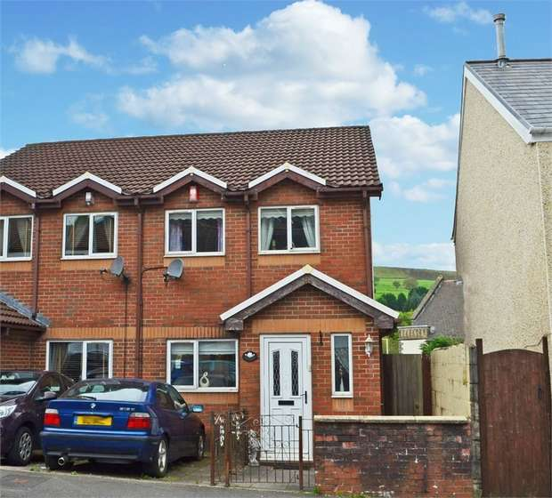 3 Bedrooms Semi Detached House for sale in Cornwall Road, Tonypandy, Mid Glamorgan
