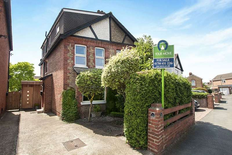 4 Bedrooms Semi Detached House for sale in Grange Road, Egham, TW20