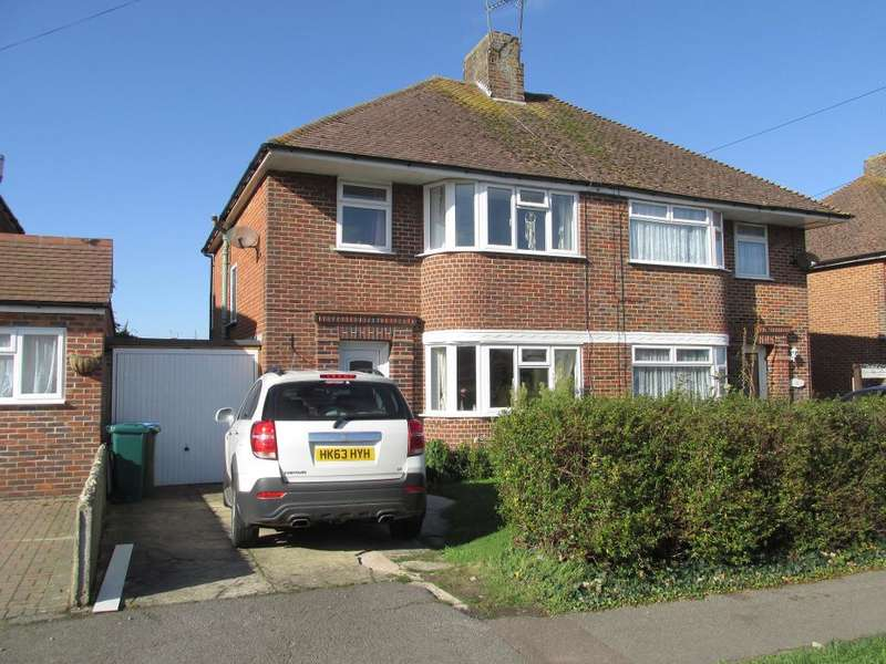3 Bedrooms Semi Detached House for sale in Merrion Avenue, Bognor Regis, West Sussex, PO22 9DE