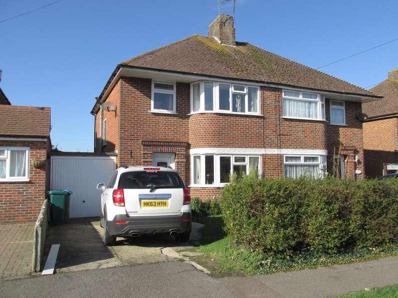 3 Bedrooms Semi Detached House for sale in Merrion Avenue, Bognor Regis, West Sussex, PO22 9DE