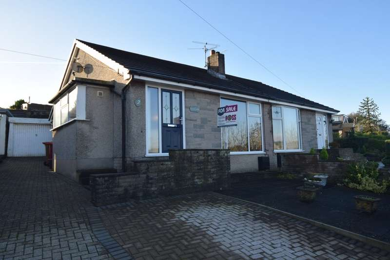2 Bedrooms Semi Detached Bungalow for sale in Tantabank, Dalton-in-Furness, Cumbria, LA15 8QD