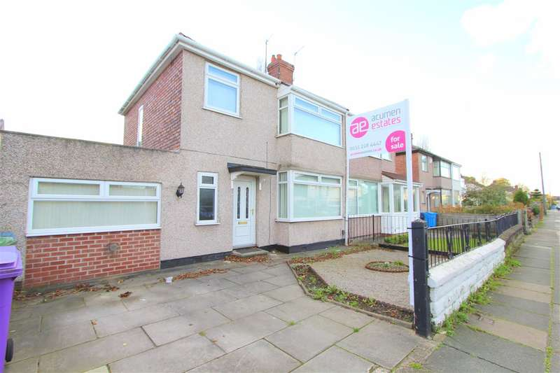 3 Bedrooms Semi Detached House for sale in Mossgate Road, Huyton, Liverpool