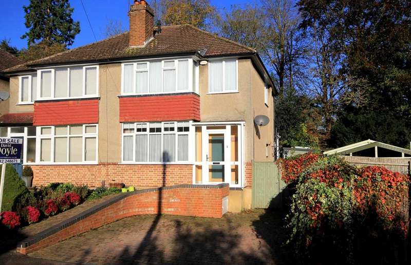 3 Bedrooms Semi Detached House for sale in 3 BED SOUGHT AFTER CUL DE SAC/POPULAR SCHOOL CATCHMENT IN Heath Close, Boxmoor