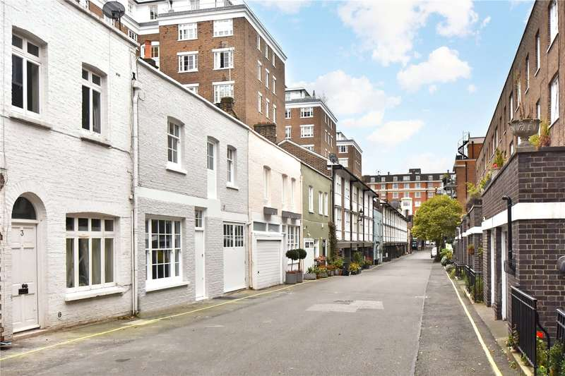 3 Bedrooms Mews House for rent in Bryanston Mews West, London, W1H