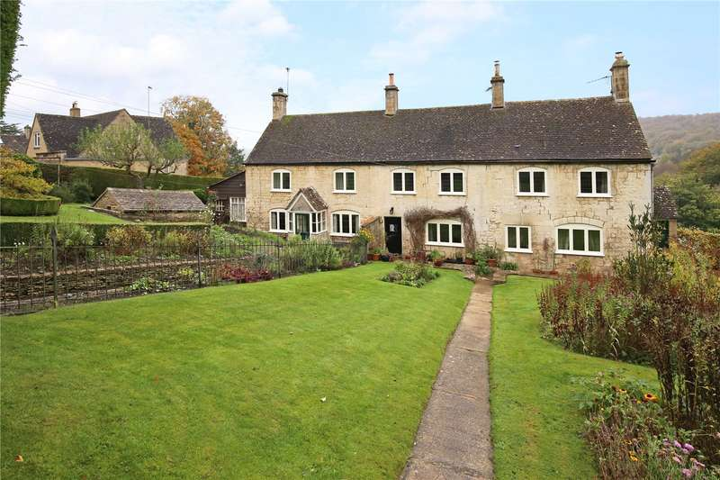 2 Bedrooms Terraced House for sale in Yew Tree Cottages, Jacks Green, Sheepscombe, Stroud, GL6