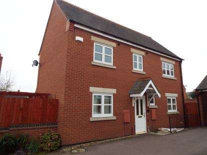 3 Bedrooms Detached House for sale in Far Pastures Road, Birstall, Leicester, Leicestershire