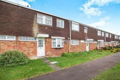 3 Bedrooms Terraced House for sale in Chelsea Gardens, Houghton Regis, Dunstable, Bedfordshire