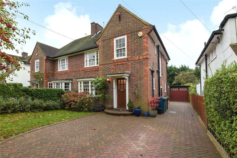 3 Bedrooms Semi Detached House for sale in Evelyn Drive, Pinner, Middlesex, HA5