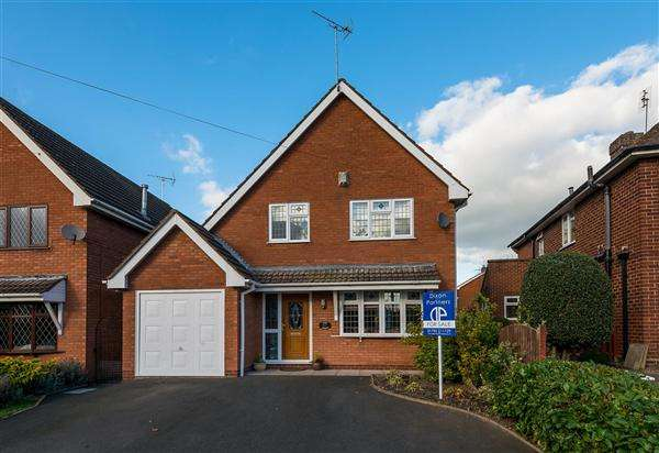 4 Bedrooms Detached House for sale in Wyre Heights, Cannock Road, Penkridge