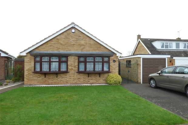 3 Bedrooms Detached Bungalow for sale in Windermere Avenue, St Nicolas Park, Nuneaton, Warwickshire