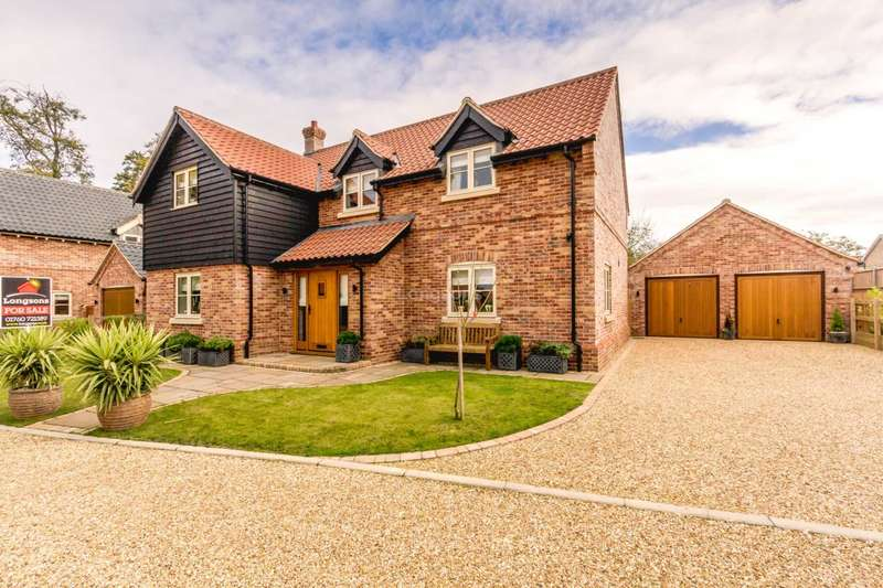 4 Bedrooms Detached House for sale in Farm View, Holme Hale