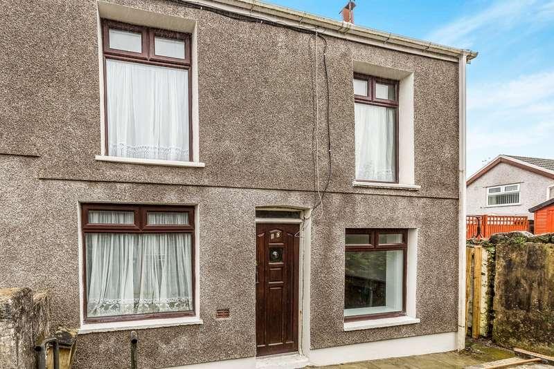 3 Bedrooms End Of Terrace House for sale in Castle Street, Maesteg