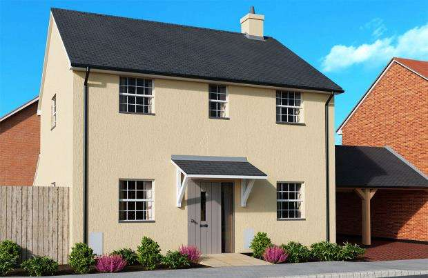 3 Bedrooms Detached House for sale in Meadow Haze, Meadow View Close, Woodbury, Exeter