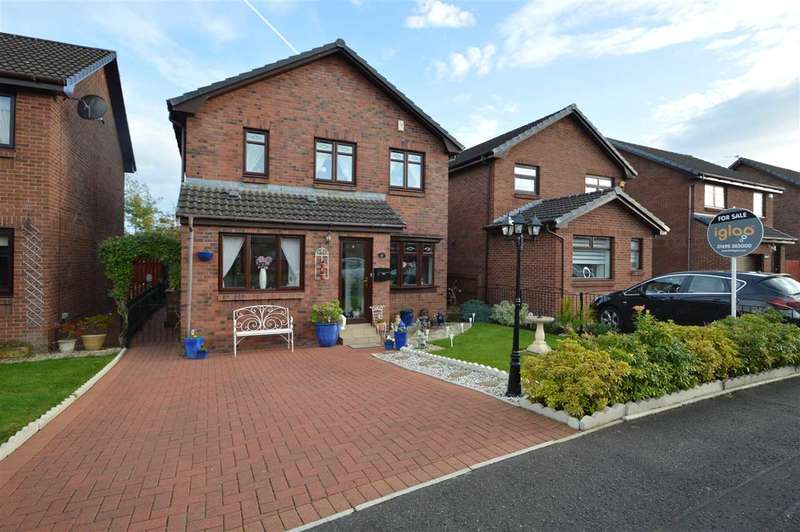 4 Bedrooms Detached House for sale in Parkneuk Street, Motherwell 4 bed detached with conservatory and converted garage (could be 5th bedroom or 2nd lounge or games room )