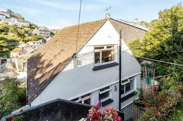 3 Bedrooms Detached House for sale in Downs View, Looe, Cornwall