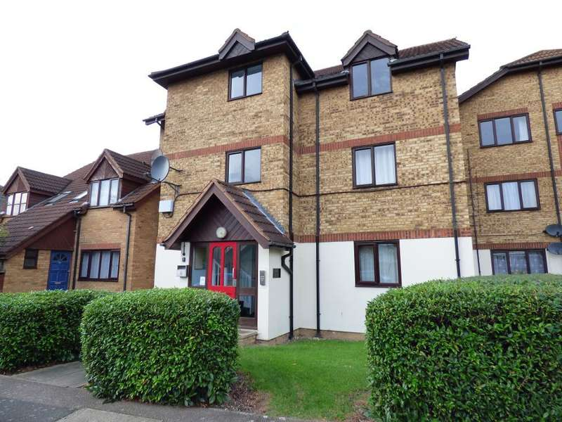 2 Bedrooms Flat for sale in Redwood Grove, Bedford, MK42 9NQ