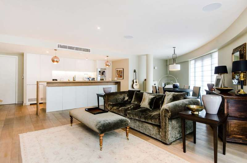 2 Bedrooms Flat for sale in Hortensia Road, Chelsea, SW10