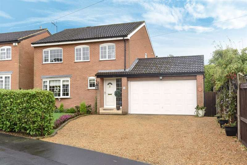 4 Bedrooms Detached House for sale in Masefield Close, Harrogate, HG1 3LU