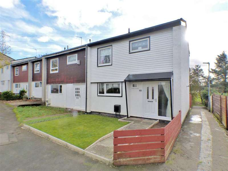 3 Bedrooms End Of Terrace House for sale in Eider Place, Greenhills, EAST KILBRIDE