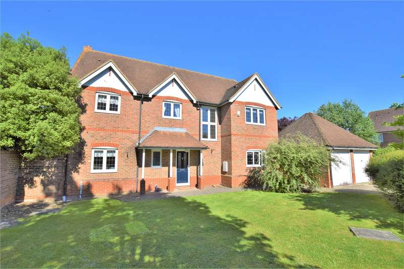 5 Bedrooms Detached House for sale in Hanningtons Way, Burghfield Common, Berkshire, RG7