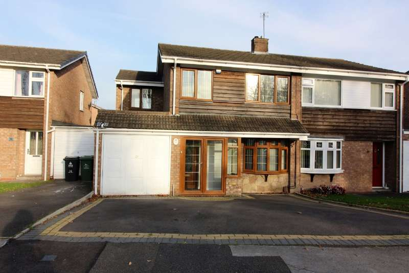 4 Bedrooms Semi Detached House for sale in Delamere Rd, New Invention